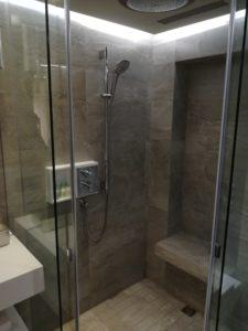 グランドハイアット台北シャワー