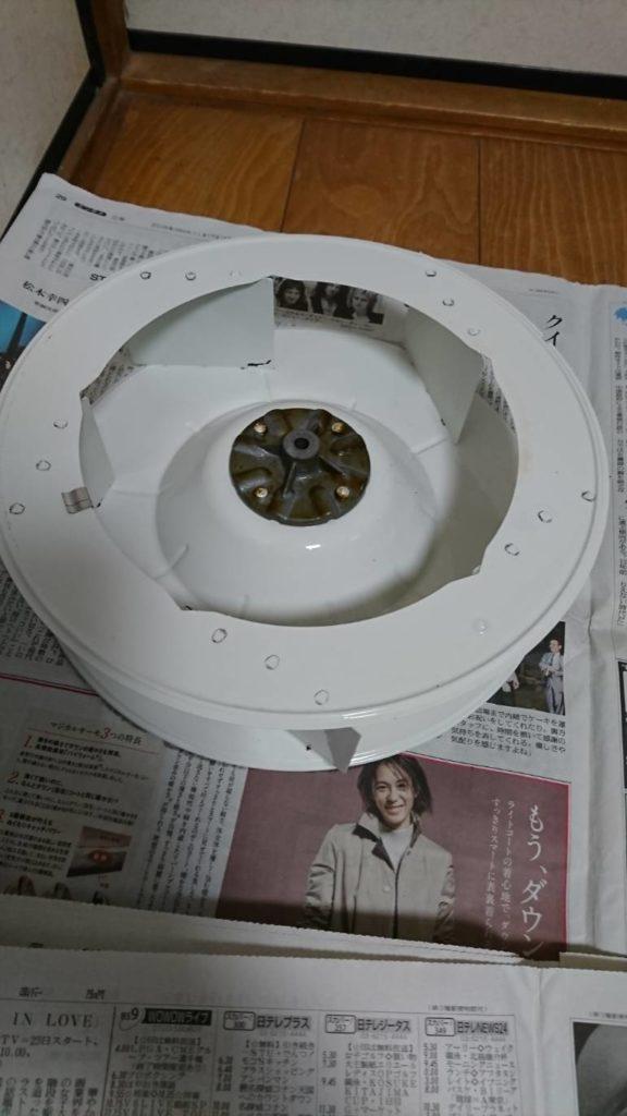 レンジフードの換気扇